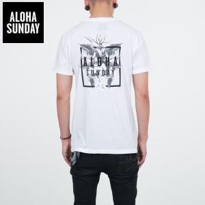 アロハサンデー Tシャツ ALOHA SUNDAY BIRDS バックプリント オフホワイト 白 2016新作 ALOHA サーフ Tシャツ [衣類]|ssshop