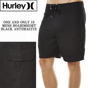 Hurley ハーレー ONE AND ONLY 19 MENS BOARDSHORT - BLACK サーフパンツ メンズ 水着 ボードショーツ 黒 無地 ブラック[衣類]|ssshop
