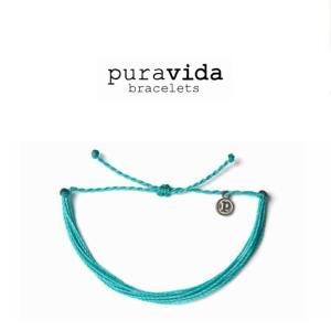 puravida bracelets プラヴィダ ブレスレット SOLID PACIFIC BLUE ソリッド パシフィック ブルー ブレスレット pura vida メンズ レディース ユニセックス|ssshop