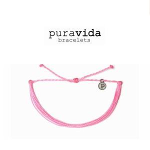 puravida bracelets プラヴィダ ブレスレット SOLID PINK ソリッド ピンク ブレスレット pura vida メンズ レディース ユニセックス アンカー  [アクセサリー]|ssshop