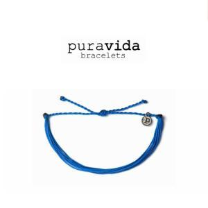 puravida bracelets プラヴィダ ブレスレット SOLID BLUE ソリッド ブルー ブレスレット pura vida メンズ レディース ユニセックス アンカー [アクセサリー]|ssshop