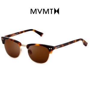 MVMT Watches エムブイエムティー サングラス メンズ レディース ユニセックス オークトータス/ブラウン 男女兼用 偏光レンズ UVカット 紫外線カット|ssshop