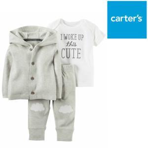 Carter's カーターズ パーカージャケット&半袖Tシャツ&パンツ 3点セット リトルジャケットセット 子供服 アウター ベビー服 赤ちゃん 男の子|ssshop