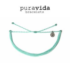 puravida bracelets プラヴィダ ブレスレット SOLID SEAFOAM ブレスレット pura vida メンズ レディース ユニセックス アンカー [アクセサリー]|ssshop