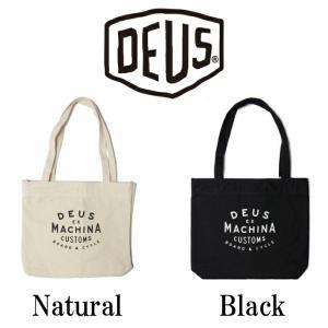 DeusExMachina デウスエクスマキナ New Classics Tote Natural Blackトートバッグ バッグ かばん ナチュラル ブラック 手さげ キャンバス|ssshop
