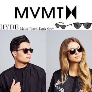 MVMT Watches エムブイエムティー サングラス メンズ レディース ユニセックス マットブラック/ダークグレー 男女兼用 偏光レンズ UVカット 紫外線カ|ssshop