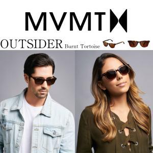 MVMT Watches エムブイエムティー サングラス メンズ レディース ユニセックス バーントトータス/ブラウン 男女兼用 偏光レンズ UVカット 紫外線カッ|ssshop