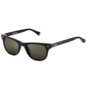 MVMT Watches エムブイエムティー サングラス メンズ レディース ユニセックス ピュアブラック/ダークグリーン 男女兼用 偏光レンズ UVカット 紫外線|ssshop