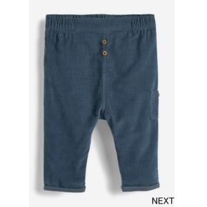 ネクスト ベビー NEXT ブルー コーデュロイパンツ ロングパンツ 子供服 ベビー服 男の子 女の子 ユニセックス ベビーウェア 新生児 おでかけ [衣類]|ssshop
