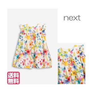 ネクスト ベビー NEXT Multi 花柄ドレス ワンピース 半袖 スカート 総柄 花柄 フローラル 子供服 ベビー服 女の子 新生児 ベビーウェア おでかけ[衣類] ssshop