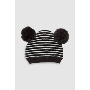 ネクスト ベビー NEXT モノクローム ストライプ ニット帽 ビーニー 帽子 防寒 ハット 子供服 ベビー服 男の子 女の子 ユニセックス 新生児 ベビーウェア [帽子]|ssshop