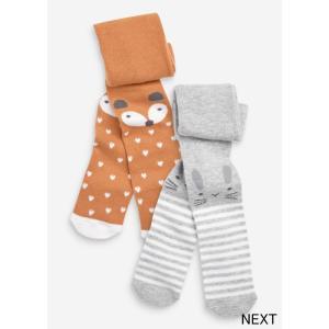 ネクスト ベビー NEXT ラスト チャコール 2パック キャラクタータイツ ウサギ 子供服 ベビー服 女の子 靴下 新生児 おでかけ[衣類]|ssshop