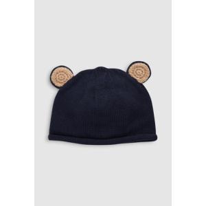 ネクスト  NEXT ネイビー 耳付き クマ ニット帽 ハット ニット帽 クマ 耳付き 子供服 ベビー服 男の子 新生児 0-18ヶ月 ベビーウェア プレゼント ギフト 出産祝|ssshop