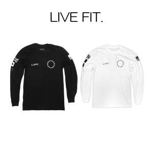 リブフィット LIVE FIT Athlete Long Sleeve 長袖 Tシャツ ロンT メンズ 筋トレ ジム ウエア スポーツウェア 正規品[衣類]|ssshop
