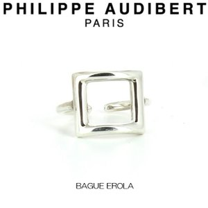 フィリップ オーディベール Philippe Audibert BAGUE EROLA エローラ シルバーメタル リング 指輪 レディース [アクセサリー]|ssshop