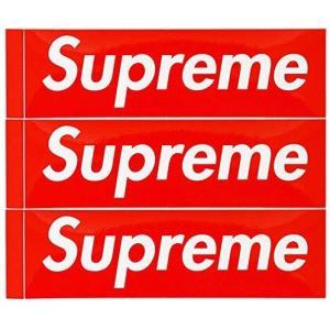 ・モデル Supreme/Box Logo Sticker 3P PACK SET  ・色 レッド/...