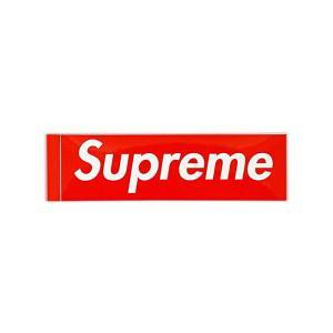 ・モデル Supreme/Box Logo Sticker 1枚  ・色 レッド/ホワイト  ・サイ...
