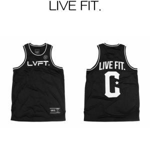 リブフィット LIVE FIT Crossover Jersey Tank ノースリーブ タンクトップ メンズ 筋トレ ジム ウエア スポーツウェア 正規品[衣類]|ssshop