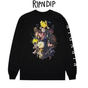 リップンディップ RIPNDIP Heavenly Bodies L/S Black ブラック 黒 ロンT Tシャツ 長袖 かわいい エイリアン 宇宙人 ネコ キャット 猫 Rip N Dip スケーター ssshop