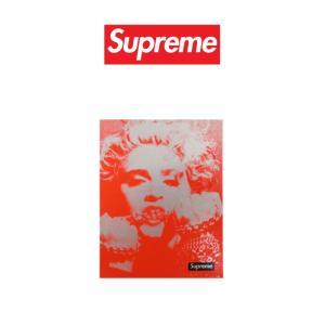 ・モデル Supreme/Marilyn Monroe マリリン・モンロー ステッカー  ・色 レッ...