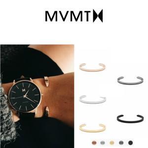 MVMT Watches バングル エムブイエムティー ブレスレット レディース ステンレス クリス...