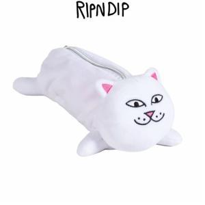 リップンディップ RIPNDIP Nerm Pencil Pouch ペンシルポーチ ペンケース 筆箱 ふでばこ 小物 かわいい ネコ キャット 猫 Rip N Dip スケーター ssshop