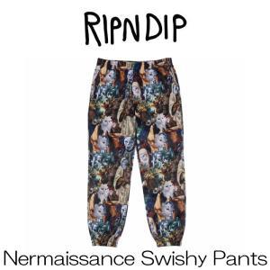 リップンディップ RIPNDIP Nermaissance Swishy Pants Multi マルチ マルチカラー かわいい ネコ キャット 猫 パンツ ロングパンツ ジョガーパンツ Rip N Dip ス ssshop