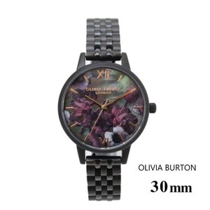 オオリビアバートン Olivia Burton レディース  ミディローズクオーツ&シルバーブレスレット 30mm メッシュ 腕時計 ステンレスバンド ステンレススチール ウォ|ssshop