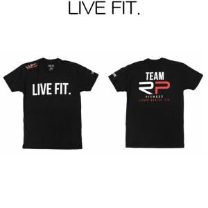 リブフィット LIVE FIT Original Tee 半袖 Tシャツ メンズ 筋トレ ジム ウエア スポーツウェア 正規品[衣類]|ssshop