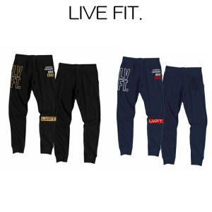 リブフィット LIVE FIT Outline Stacked Joggers Gold/Black Navy/Red スウェットパンツ ジョガー パンツ メンズ 筋トレ ジム ウエア スポーツウェア 正規品[衣 ssshop