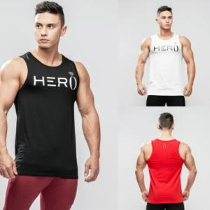 ヘラヒーロー HERA x HERO PRIMO TANK TOP プリモ タンクトップ ノースリーブ メンズ ジムウェア スポーツウェア 重ね 大きいサイズ 黒 白 スポーティ 筋トレ[衣|ssshop