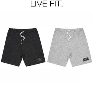 リブフィット LIVE FIT Trademark Shorts ショートパンツ ハーフパンツ ショーツ 短パン メンズ 筋トレ ジム ウエア スポーツウェア 正規品[衣類] ssshop