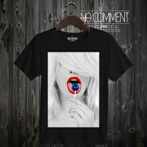 NO COMMENT PARIS ノーコメントパリ 半袖 Tシャツ ブラック ラウンドネック Vネック メンズ レディース 大きい 小さい ノーコメント NO COMMENT TEE S|ssshop