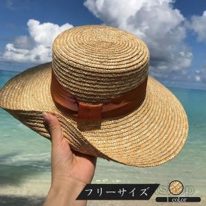 帽子 麦わら帽子 レディース ハット 日よけ UVカット UV 紫外線100%カット 紐付き 麻ポリブリムハット 日よけ 折りたたみ 飛ばない の日 ボウタイつば広|sssnetshop