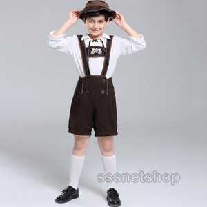 ハロウィン コスプレ 子供 キッズ ビールガール ダンス衣装 子供 仮装 コスチューム ドイツ ビール祭り 民族 メルヘン キャラクター衣装 sssnetshop