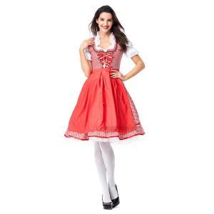 ドイツビール祭り メイド 衣装 コスプレ 仮装 ハロウィン 大きなサイズ 制服 レディース 女性用 バー 舞台劇 イベント パーティー Halloween コスチューム 変装|sssnetshop