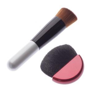 熊野筆ファンデーションブラシ&熊野筆プレストブラシセット|st-couleur