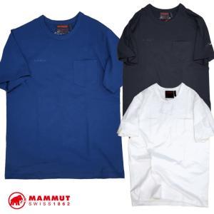 MAMMUT マムート Cotton Pocket T-shirt コットンポケットTシャツ 1017-10001|st-king