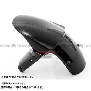 SSK フロントフェンダー ドライカーボン 仕様:綾織り艶消し NINJA1000