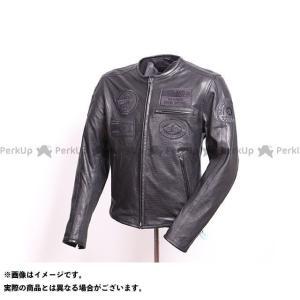 【無料雑誌付き】DEGNER ジャケット 2021春夏モデル 21SJ-8 レザーメッシュジャケット(ブラック) サイズ:L デグナー|st-ride