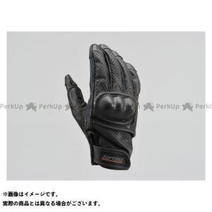 【無料雑誌付き】HenlyBegins メッシュグローブ HBG-130 パンチングメッシュプロテクターカウレザーグローブ(ブラック) サイズ:XL… st-ride