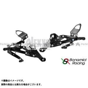 【無料雑誌付き】Bonamici Racing その他のモデル バックステップ関連パーツ PURE RACING STEP KIT(ブラック) ボナ… st-ride