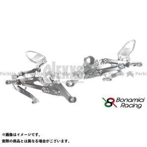 【無料雑誌付き】Bonamici Racing その他のモデル バックステップ関連パーツ PURE RACING STEP KIT(シルバー) ボナ… st-ride