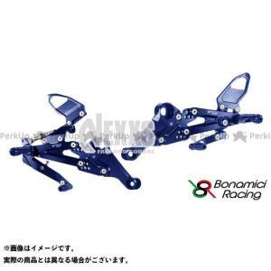【無料雑誌付き】Bonamici Racing その他のモデル バックステップ関連パーツ PURE RACING STEP KIT(ブルー) ボナミ… st-ride