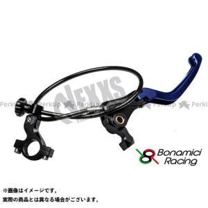 【無料雑誌付き】Bonamici Racing レバー リモートアジャスターWith可倒式ブレーキレバー(ブルー) ボナミーチレーシング st-ride