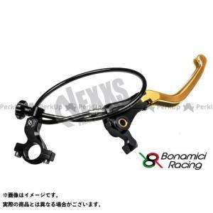 【無料雑誌付き】Bonamici Racing レバー リモートアジャスターWith可倒式ブレーキレバー(ゴールド) ボナミーチレーシング st-ride