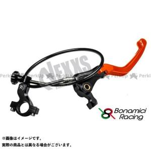 【無料雑誌付き】Bonamici Racing レバー リモートアジャスターWith可倒式ブレーキレバー(オレンジ) ボナミーチレーシング st-ride