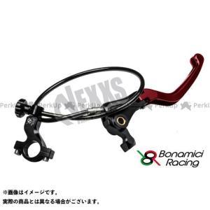 【無料雑誌付き】Bonamici Racing レバー リモートアジャスターWith可倒式ブレーキレバー(レッド) ボナミーチレーシング st-ride