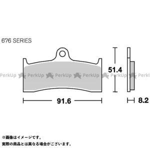 【無料雑誌付き】SBS ブレーキパッド ブレーキパッド 676RS レーシング(シンター) エスビーエス st-ride