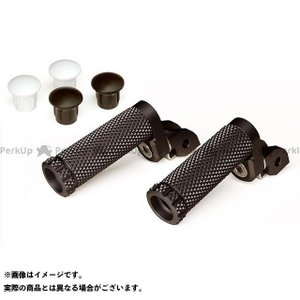 MotoCRAZY SBKアルミステップM-8Pキット 21mm(8ポジション) カラー:ブラック st-ride